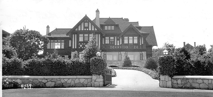 1558 Beach Drive soon after it was built in 1912