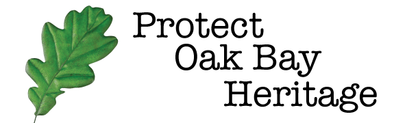 Protect Oak Bay Heritage Retina Logo